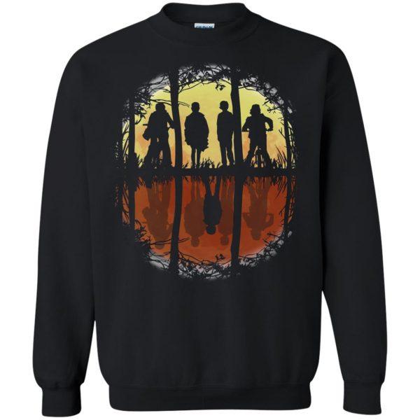 Stranger Friends sweatshirt - black