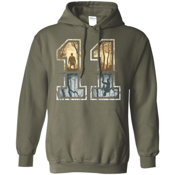Eleven hoodie - military green