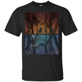 Stranger Forest T-shirt - black
