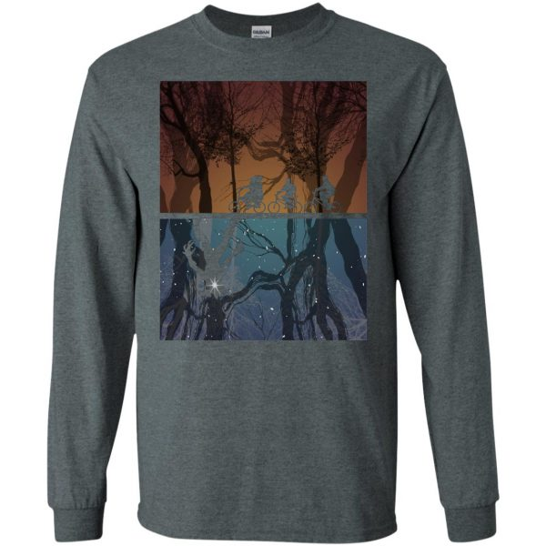 Stranger Forest long sleeve - dark heather