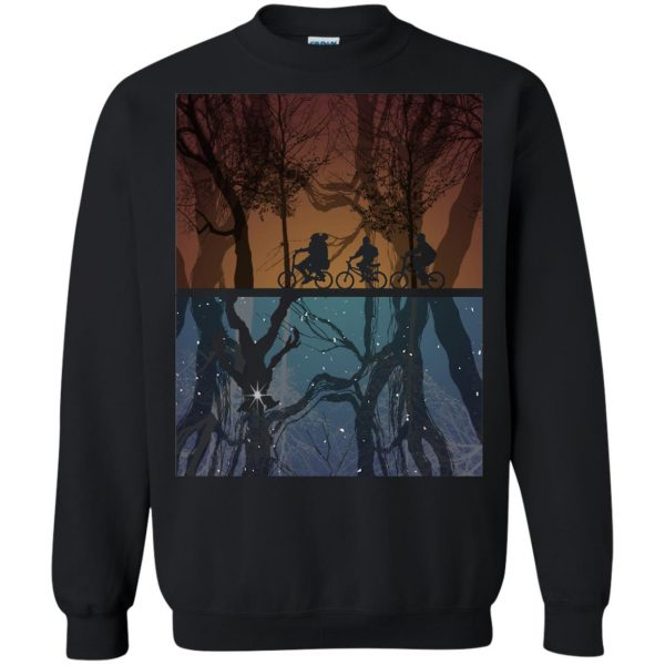 Stranger Forest sweatshirt - black