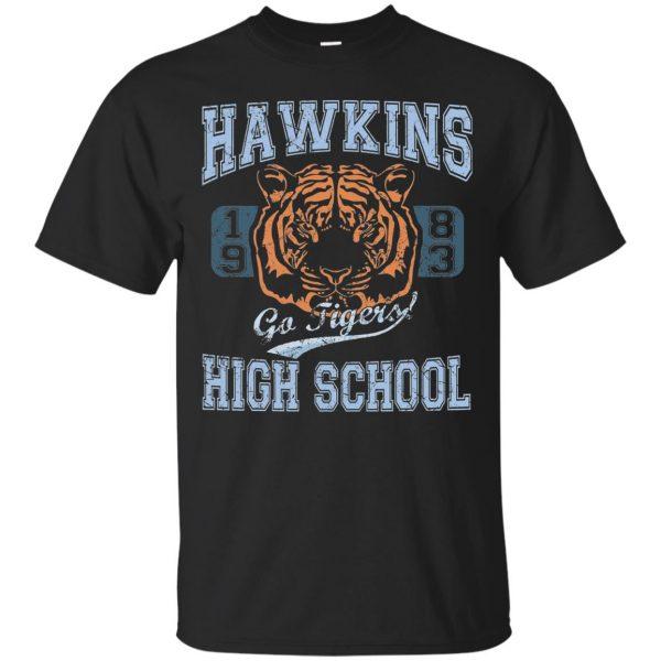 Hawkins High School T-shirt - black