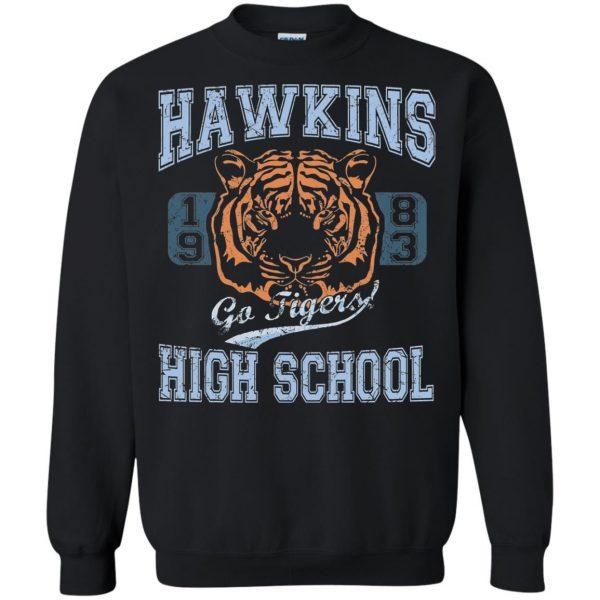 Hawkins High School sweatshirt - black