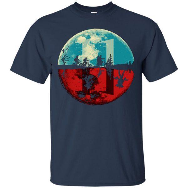 Stranger Moon t shirt - navy blue