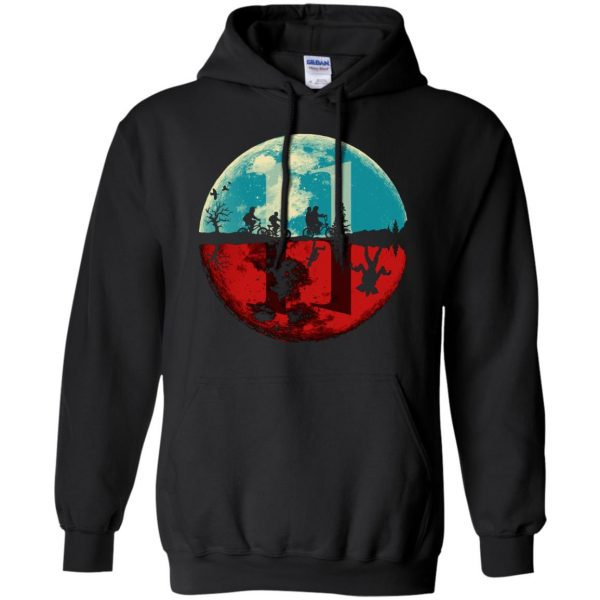 Stranger Moon hoodie - black