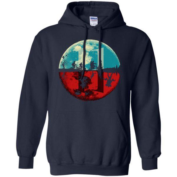 Stranger Moon hoodie - navy blue