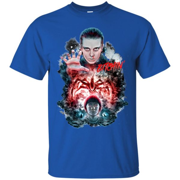 Eleven and Will t shirt - royal blue