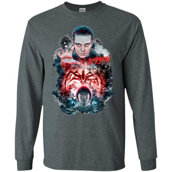 Eleven and Will long sleeve - dark heather