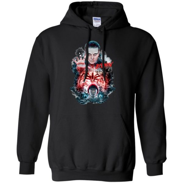 Eleven and Will hoodie - black