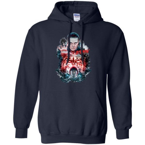 Eleven and Will hoodie - navy blue