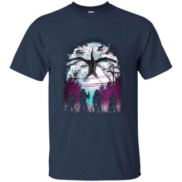 Demogorgon t shirt - navy blue