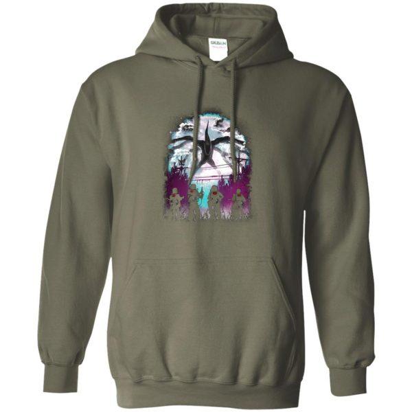Demogorgon hoodie - military green