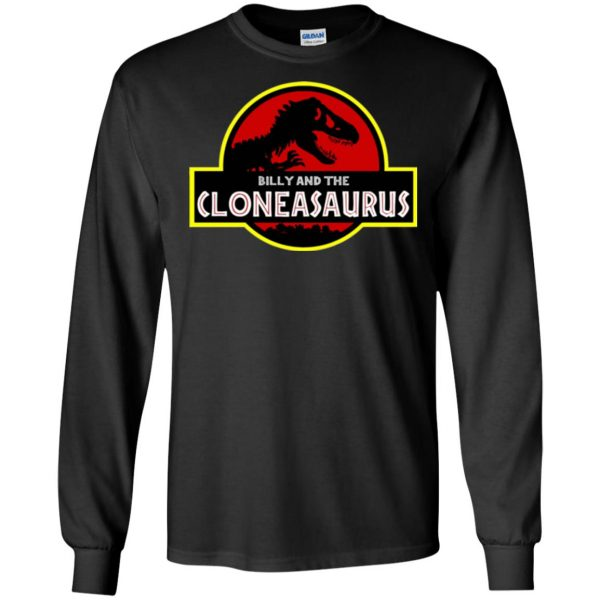 billy and the cloneasaurus long sleeve - black