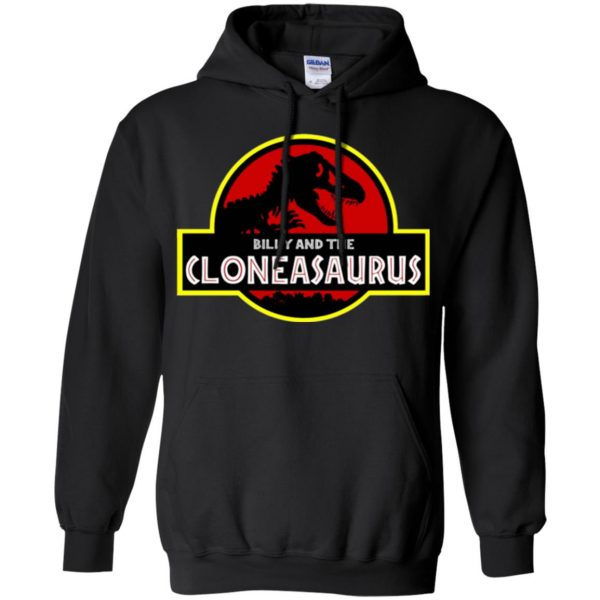 billy and the cloneasaurus hoodie - black