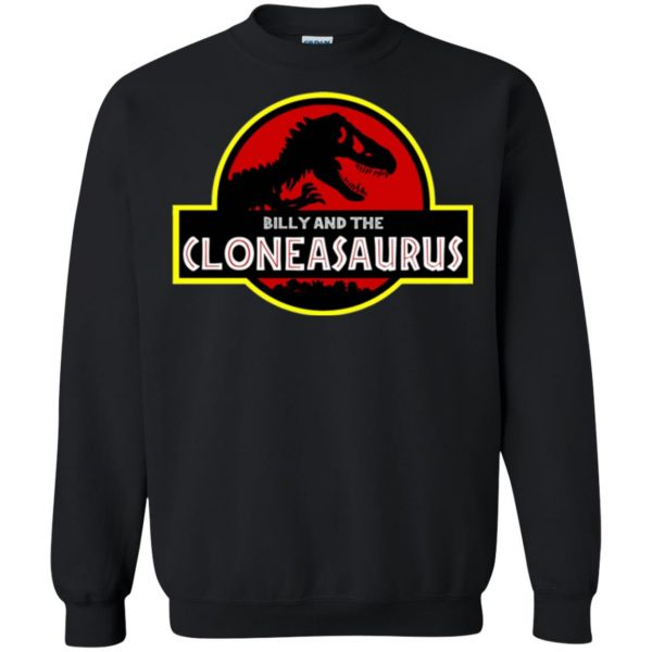 billy and the cloneasaurus sweatshirt - black