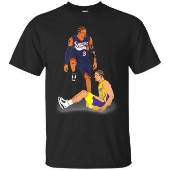 allen iverson tyronn lue shirt - black