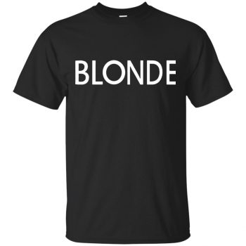 blonde sweatshirt - black