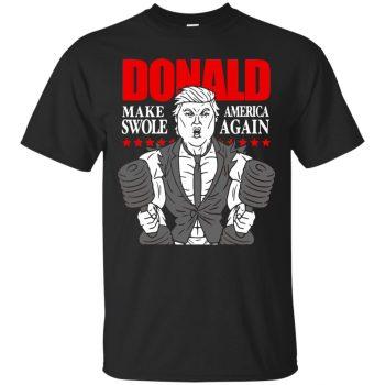 donald pump shirt - black