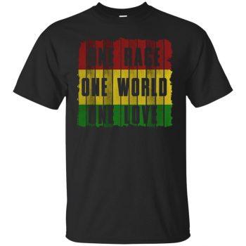 one love shirt - black