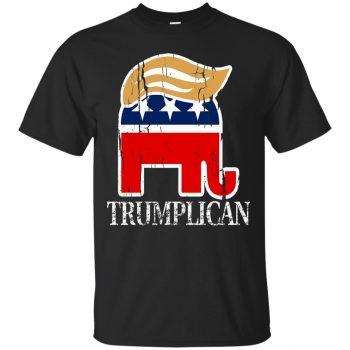 trumplican shirt - black