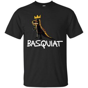 basquiat tee shirts - black