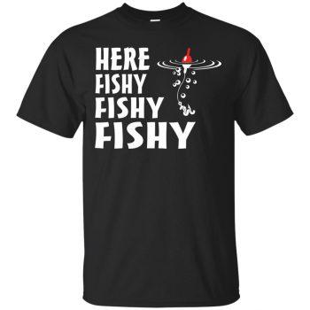 here fishy fishy shirt - black
