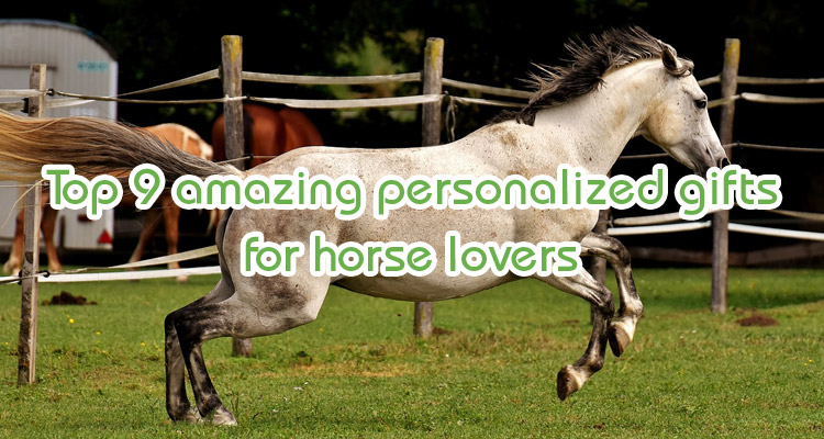 personalized gifts for horse lovers
