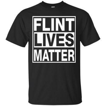 flint lives matter shirt - black