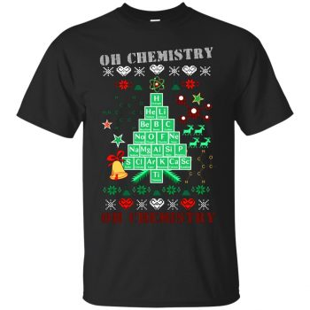 oh chemis tree shirt - black