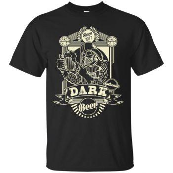 star wars beer shirt - black