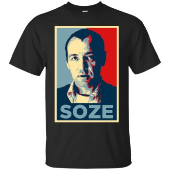 keyser soze t shirt - black