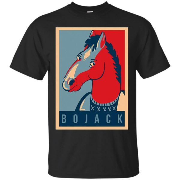 bojack horseman shirt - black