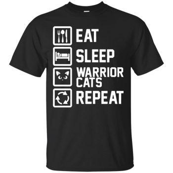 warrior cats sweatshirt - black