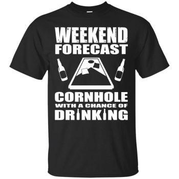 cornhole t shirts - black