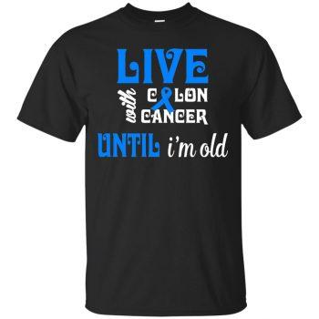 colon cancer sweatshirt - black