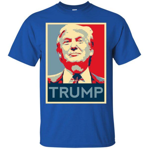 i love trump t shirt - royal blue