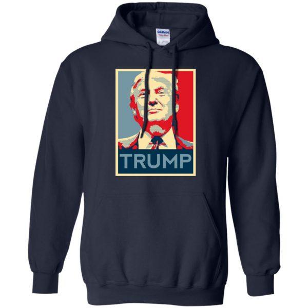 i love trump hoodie - navy blue