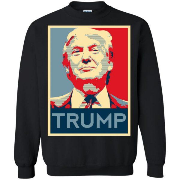 i love trump sweatshirt - black
