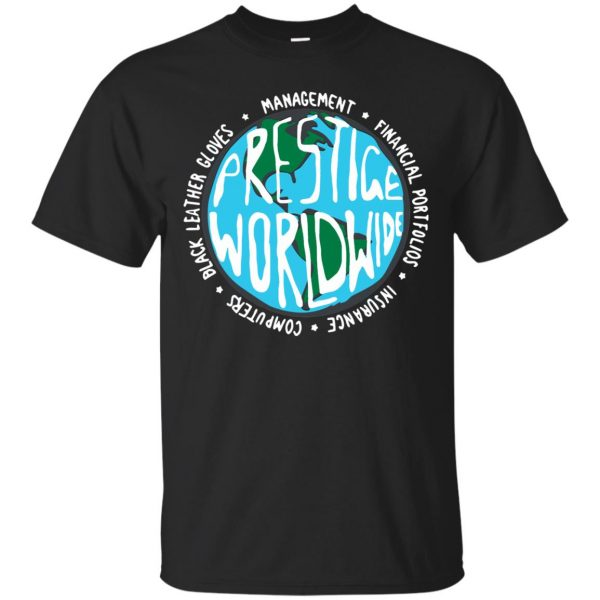 prestige worldwide shirt - black