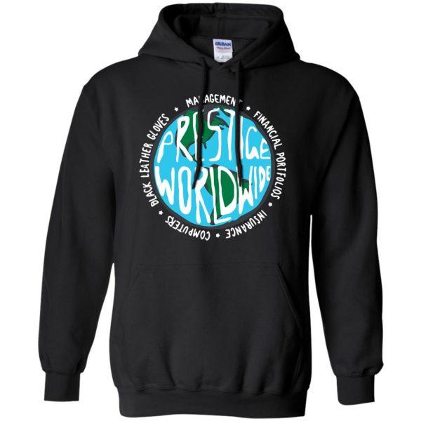 prestige worldwide hoodie - black