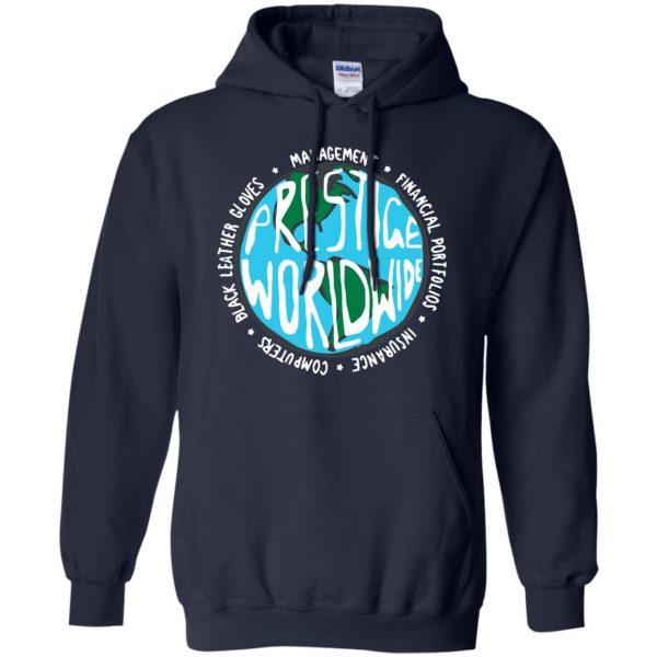 prestige worldwide hoodie - navy blue