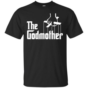 godmother tshirt - black