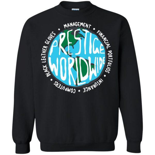 prestige worldwide sweatshirt - black