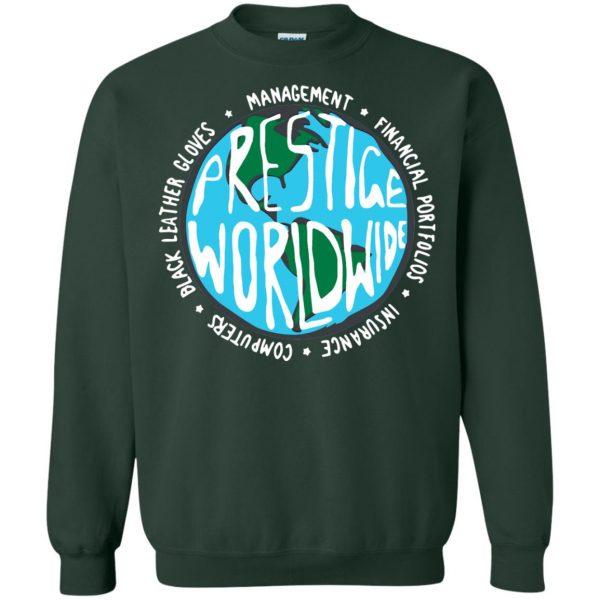 prestige worldwide sweatshirt - forest green