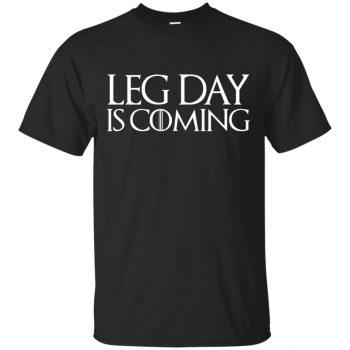 leg day shirt - black