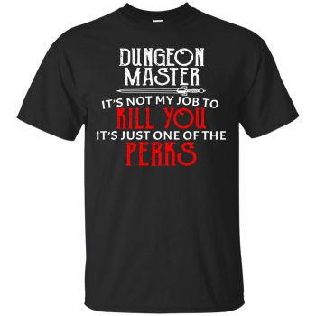 dungeon master shirt - black