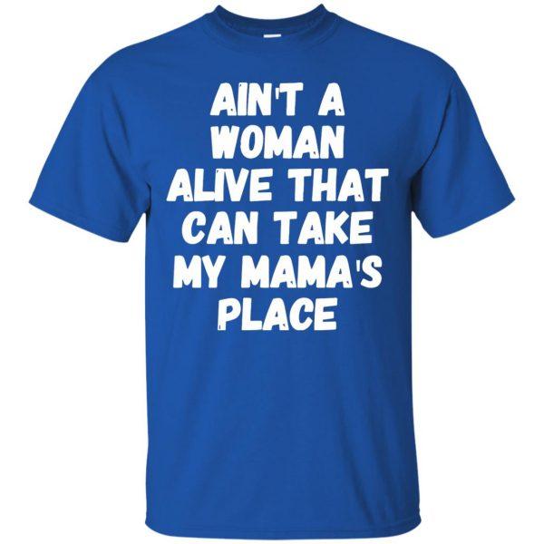 aint a woman alive t shirt - royal blue