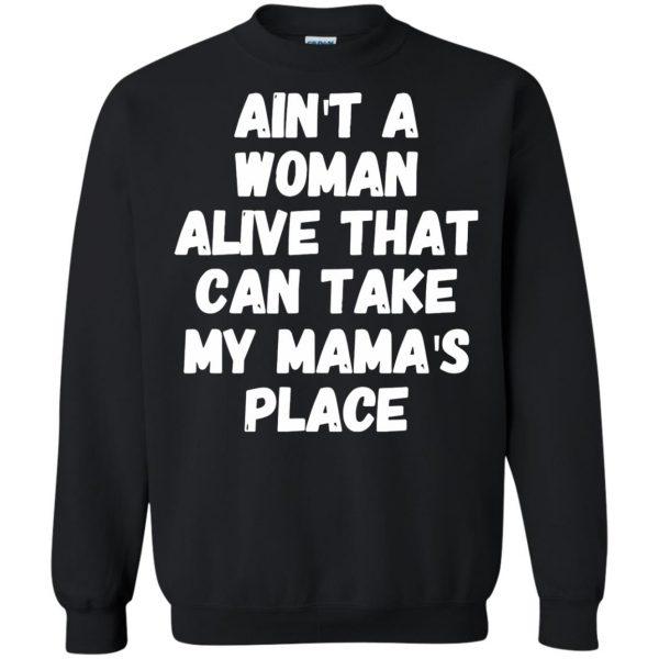 aint a woman alive sweatshirt - black