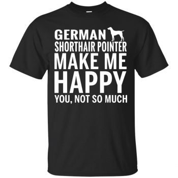 german shorthaired pointer shirt - black