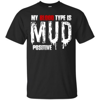 mudding shirts - black